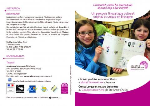 SAINTE-ANNE-D'AURAY - Un parcours linguistique culturel original et unique en Bretagne