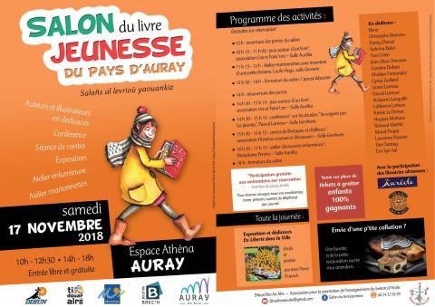 AURAY - Salon du livre jeunesse du Pays d'Auray