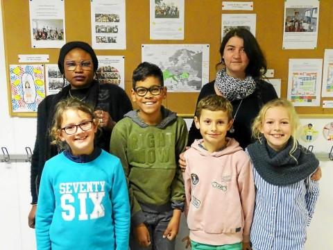 HENNEBONT - École Saint-Gilles. Décollage pour la Croatie