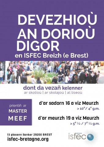 BREST - Portes ouvertes ISFEC