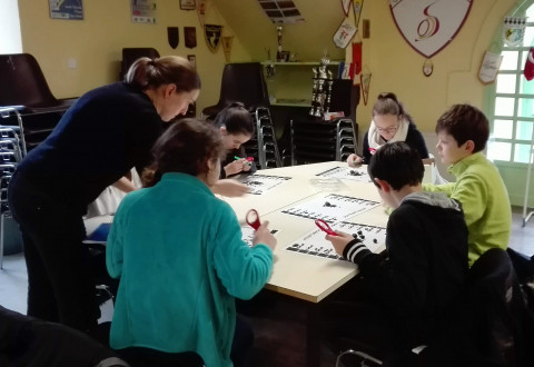 LANNILIS - Les élèves bilingues à la découverte de Vorgium