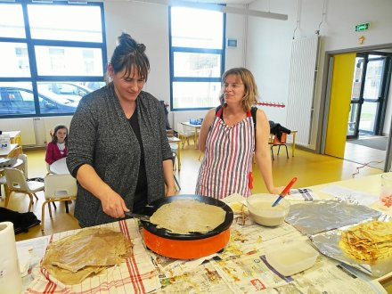 HENNEBONT - École Saint-Gilles. Apprendre à « tourner » pour la culture Bretonne.