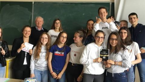 LESNEVEN - Hervé Lossec à la rencontre des collégiens