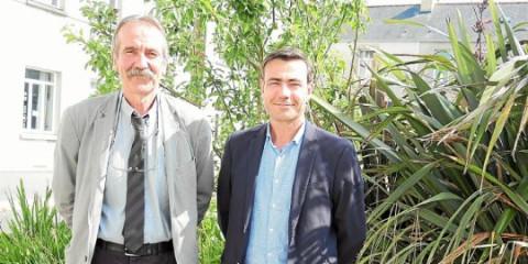 PLABENNEC - Sainte-Anne. Pierre Mazé, futur directeur