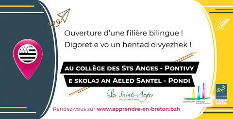 PONTIVY - Une filière bilingue aux Sts Anges