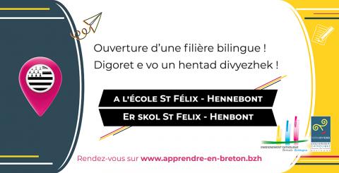 HENNEBONT - Du breton à St Felix !