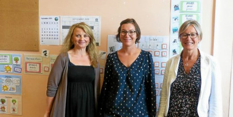 LANNION -  École Jeanne-d'Arc. Trois nouvelles enseignantes
