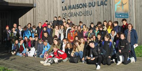 GUINGAMP - Collège-lycée Notre-Dame. Sortie bilingue dans le pays nantais