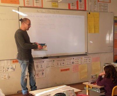 PLOUVORN - École. La littérature en fil rouge