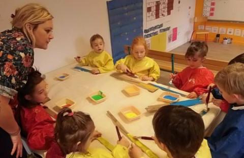 CONCARNEAU -  Les écoliers de Notre-Dame du Sacré-Cœur inspirés par la mer
