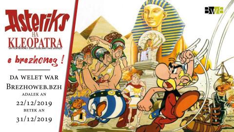 BREZHOWEB diffusera Asterix et Cléopâtre en breton pour Noël
