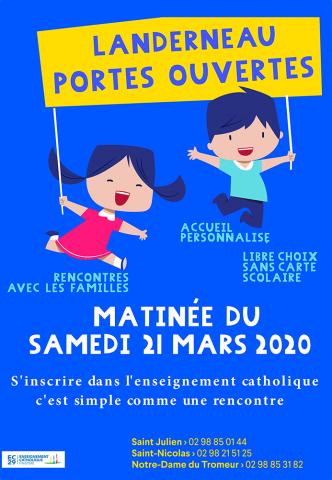 LANDERNEAU - Saint-Julien. Journée portes ouvertes
