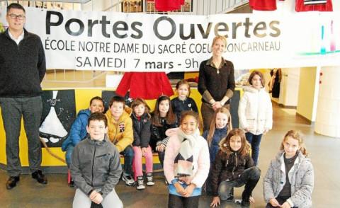 CONCARNEAU - Portes ouvertes du Sacré-Coeur et de Sainte-Thérèse le 7 mars