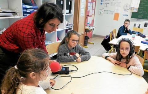 LOCMARIA-PLOUZANE - Saint-Joseph : les élèves à la radio