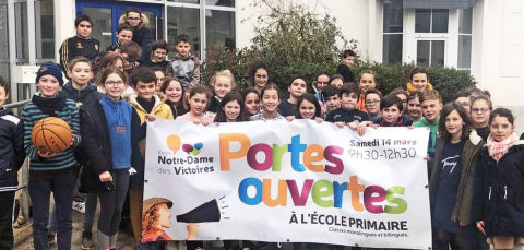 LANDIVISIAU - Portes ouvertes de l'école Notre-Dame des Victoires