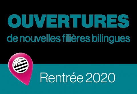 Ouvertures de nouvelles classes bilingues pour la rentrée 2020 !