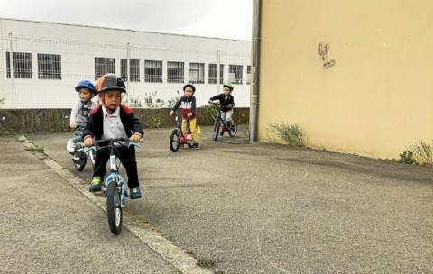 PLABENNEC - Une semaine vélo à l'école Sainte-Anne