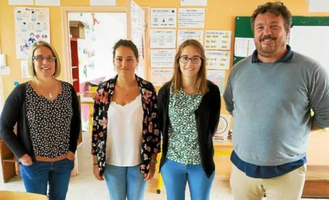 MAEL-CARHAIX - Du changement dans l'équipe pédagogique de l'école privée de Maël-Carhaix