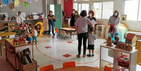 CAUDAN - Les petits nouveaux de Saint-Joseph explorent leurs classes