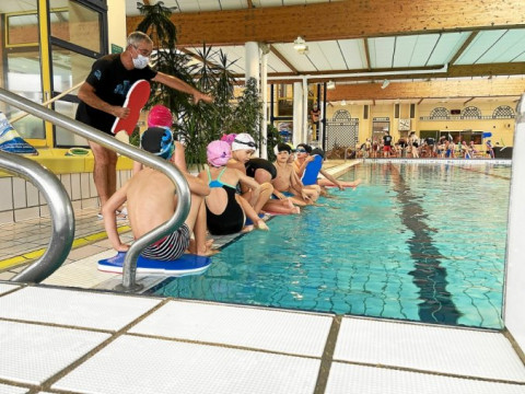 FOUESNANT - Des séances de piscine pour les enfants de Notre-Dame d'Espérance