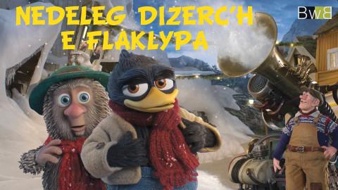 BRETAGNE - Brezhoweb diffuse des dessins animés en breton pour Noël