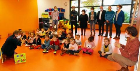 PLESCOP - Des ateliers comptines et jeux de mots en breton pour les jeunes élèves brittophones