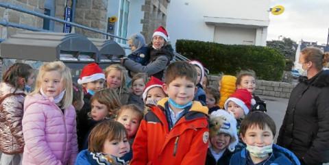 CARNAC - À l'école Saint-Michel, une lettre au Père Noël