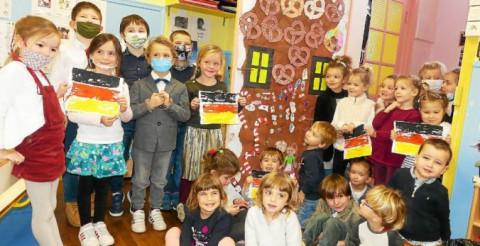 CARNAC - Les bilingues de l'école Saint-Michel, voyagent dans la culture allemande