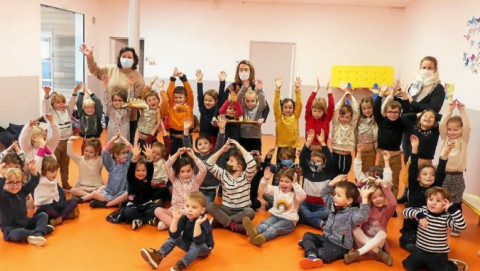 CARNAC - L'école Saint-Michel fête les Rois