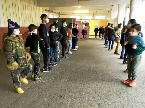 PLOUESCAT - Les élèves bilingues de Notre-Dame des Victoires ont appris à danser avec Bleuniadur