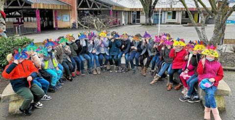 PLOUGASTEL-DAOULAS - À l'école Saint-Pierre, les élèves bilingues breton se transforment en Amérindiens