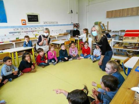 HENNEBONT - trois classes de maternelle et primaire découvrent l'allemand à l'école Saint-Gilles