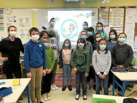GUISSENY - Quiz en breton à l'école Sainte-Jeanne-d'Arc