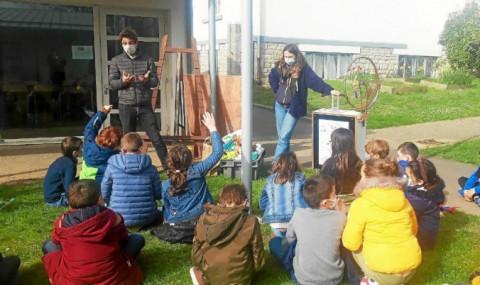 PLONEOUR LANVERN - Sensibilisation à la valorisation des déchets pour les élèves de Notre-Dame de Bon Secours