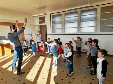 ROSTRENEN - Les écoliers de Notre-Dame s'éveillent à la musique