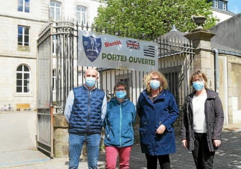 PONTIVY - Portes ouvertes à l'école Saint-Joseph - Le Château