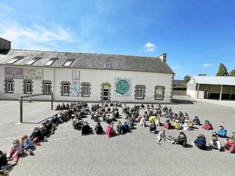 LANNILIS - Le 100e jour d'école fêté au Sacré-Cœur