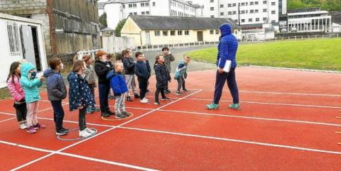 ROSTRENEN - Les élèves de Notre-Dame sur la piste d'athlé