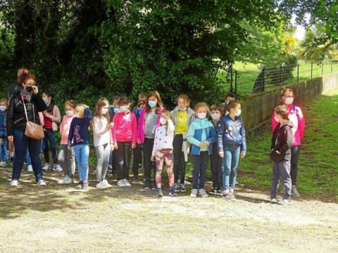 LANGUIDIC - 110 élèves de Notre-Dame-des-Fleurs section bilingue ont participé à La Redadeg