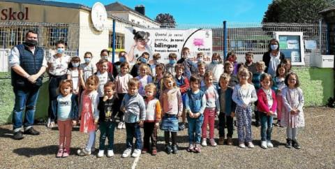 MUZILLAC - Matinée découverte pour la filière bilingue de l'école Sainte-Bernadette